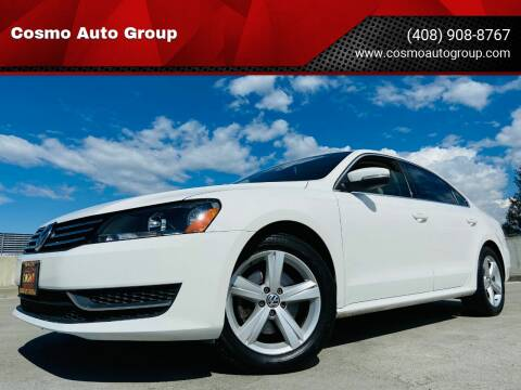2013 Volkswagen Passat for sale at Cosmo Auto Group in San Jose CA