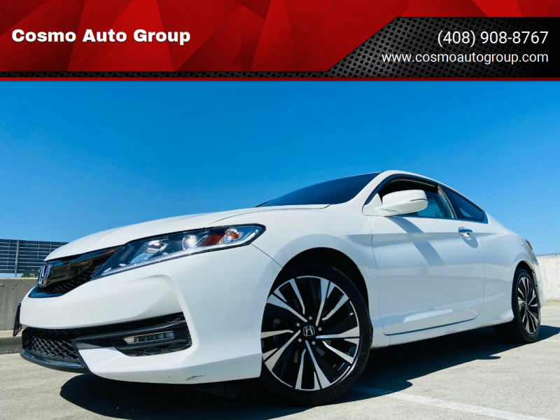 2016 Honda Accord for sale at Cosmo Auto Group in San Jose CA