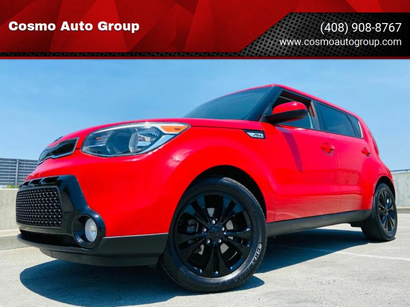 2016 Kia Soul for sale at Cosmo Auto Group in San Jose CA
