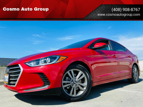 2017 Hyundai Elantra for sale at Cosmo Auto Group in San Jose CA