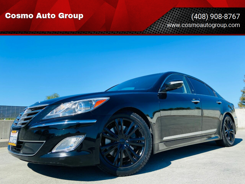 2012 Hyundai Genesis for sale at Cosmo Auto Group in San Jose CA