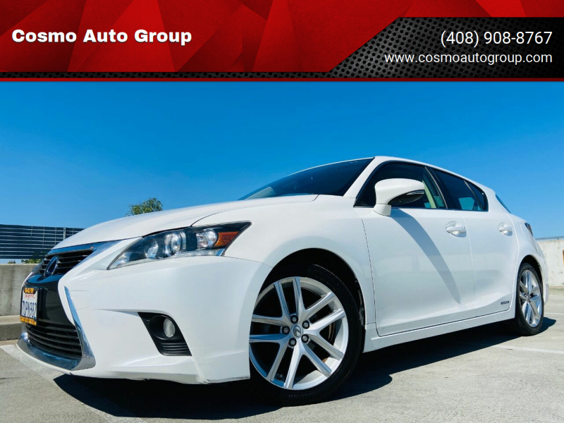 2016 Lexus CT 200h for sale at Cosmo Auto Group in San Jose CA