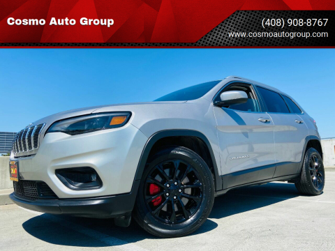 2019 Jeep Cherokee for sale at Cosmo Auto Group in San Jose CA