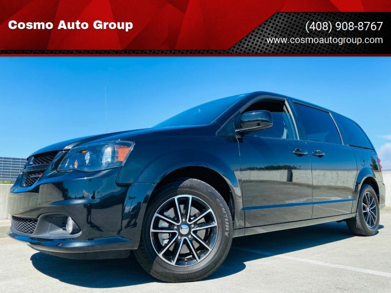 2018 Dodge Grand Caravan for sale at Cosmo Auto Group in San Jose CA