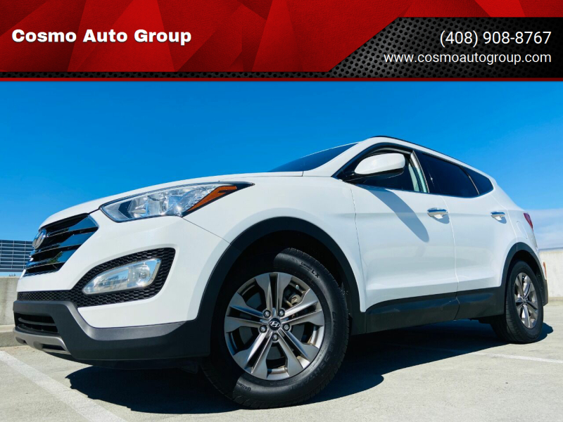 2014 Hyundai Santa Fe Sport for sale at Cosmo Auto Group in San Jose CA