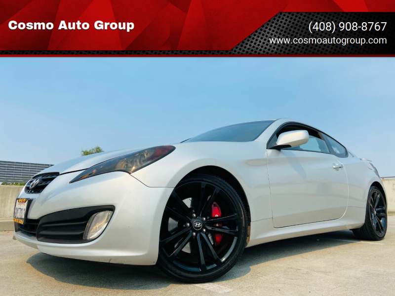 2010 Hyundai Genesis Coupe for sale at Cosmo Auto Group in San Jose CA