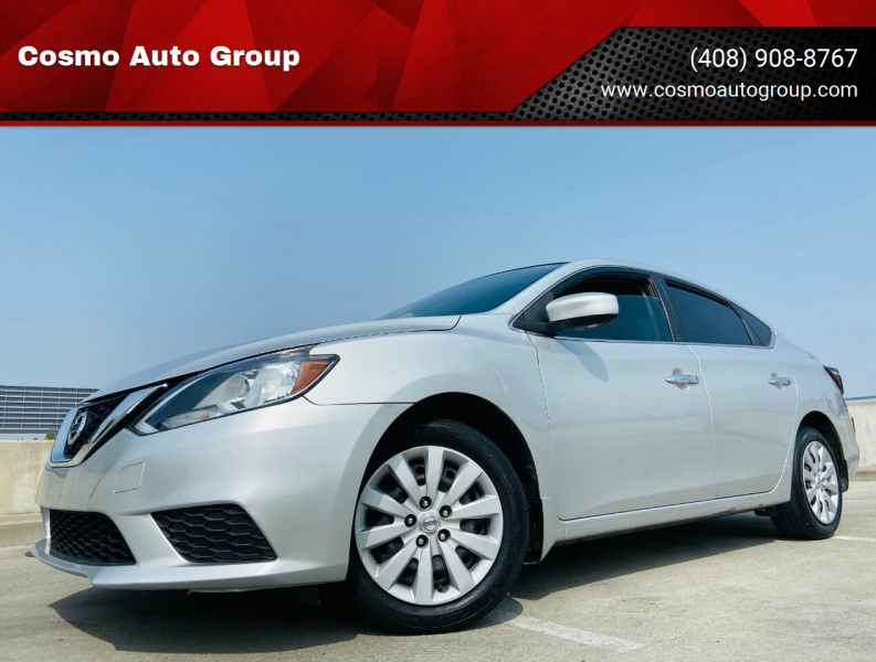 2017 Nissan Sentra for sale at Cosmo Auto Group in San Jose CA