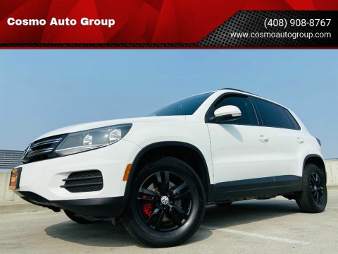 2017 Volkswagen Tiguan for sale at Cosmo Auto Group in San Jose CA