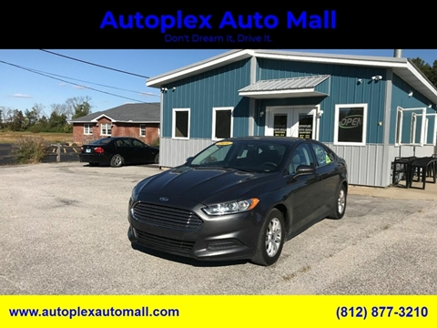 2016 Ford Fusion for sale in Terre Haute, IN