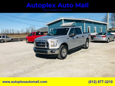 2015 Ford F-150 XLT for sale at Autoplex Auto Mall in Terre Haute IN