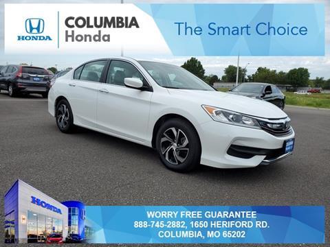 2017 Honda Accord for sale in Columbia, MO