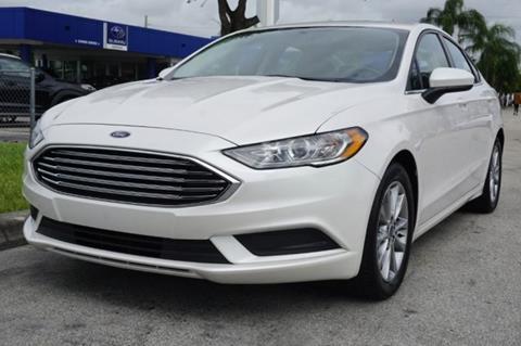 2017 Ford Fusion for sale in Miami, FL
