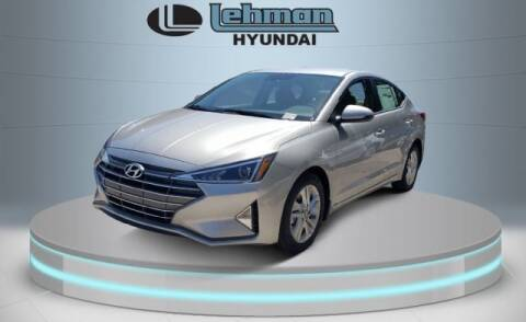 2020 Hyundai Elantra for sale at LEHMAN HYUNDAI in Miami FL