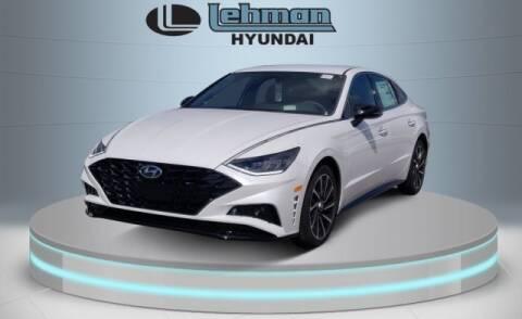 2020 Hyundai Sonata SEL Plus for sale at LEHMAN HYUNDAI in Miami FL