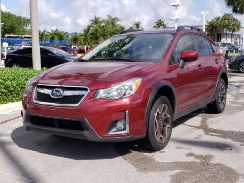 2017 Subaru Crosstrek 2.0i Premium for sale at LEHMAN HYUNDAI in Miami FL