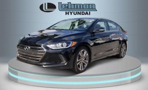 2017 Hyundai Elantra for sale at LEHMAN HYUNDAI in Miami FL