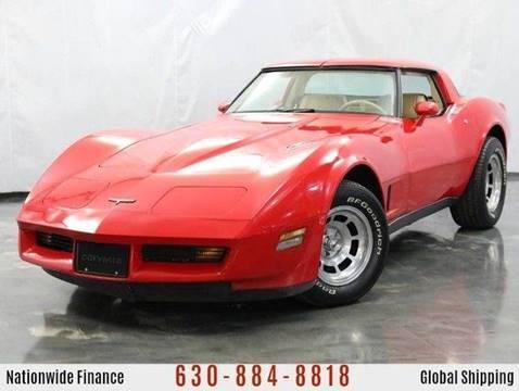 1980 Chevrolet Corvette for sale at MGM in Addison IL