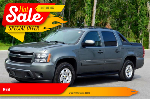 2011 Chevrolet Avalanche for sale at MGM in Addison IL