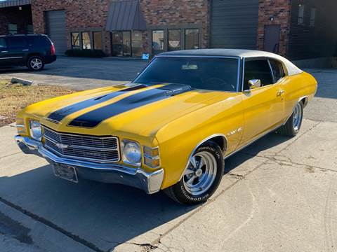 1971 Chevrolet Chevelle for sale at MGM in Addison IL