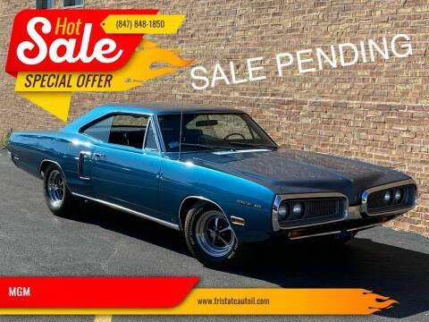 1970 Dodge Coronet for sale at MGM in Addison IL