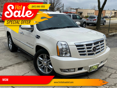 2007 Cadillac Escalade EXT for sale at MGM in Addison IL