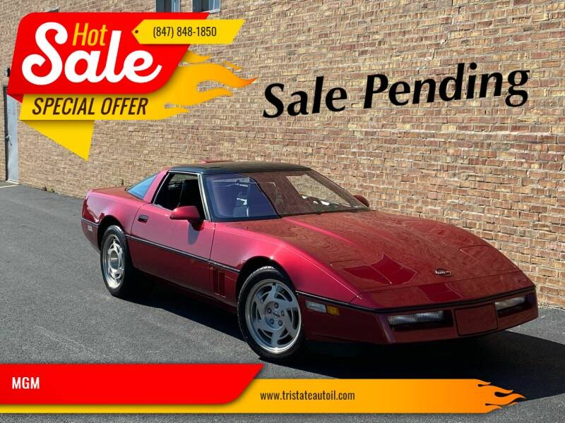 1990 Chevrolet Corvette for sale at MGM in Addison IL