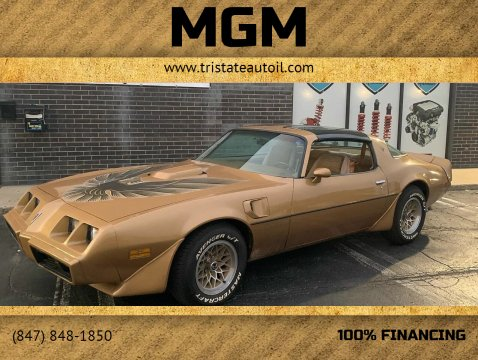 1979 Pontiac Firebird Trans Am for sale at MGM in Addison IL