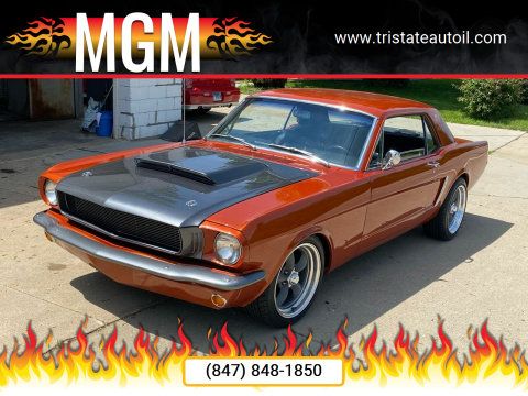1965 Ford Mustang for sale at MGM in Addison IL