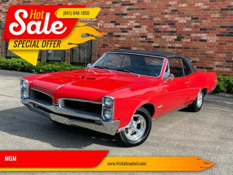 1967 Pontiac GTO for sale at MGM in Addison IL