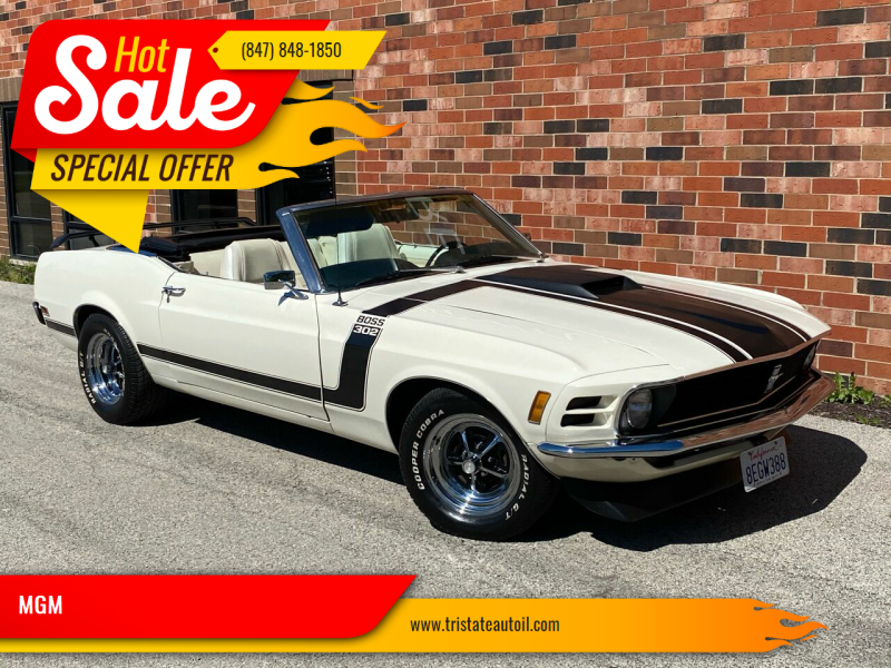 1970 Ford Mustang for sale at MGM in Addison IL