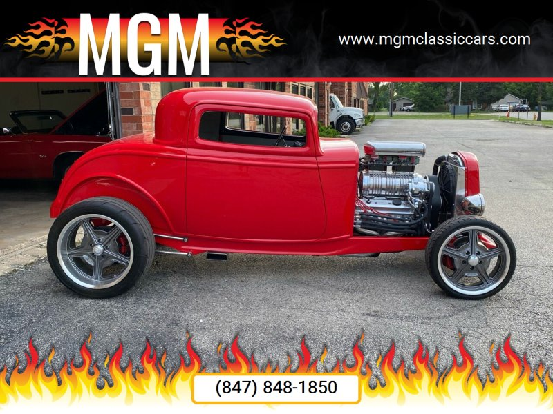 1932 Ford Coupe for sale at MGM in Addison IL