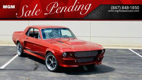 1968 Ford Mustang for sale at MGM in Addison IL