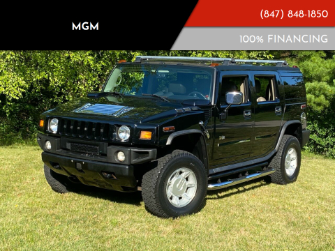 2004 HUMMER H2 for sale at MGM in Addison IL