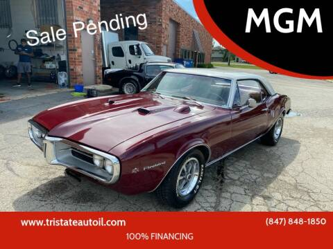 1967 Pontiac Firebird for sale at MGM in Addison IL