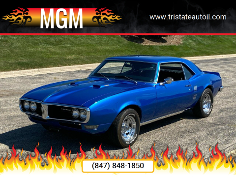 1968 Pontiac Firebird for sale at MGM in Addison IL