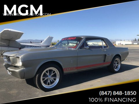 1966 Ford Mustang for sale at MGM in Addison IL