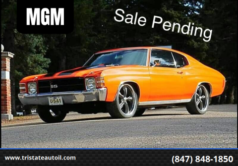 1972 Chevrolet Chevelle for sale at MGM in Addison IL