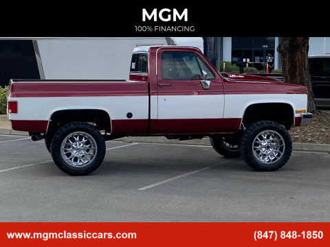 1976 Chevrolet C/K 10 Series for sale at MGM in Addison IL