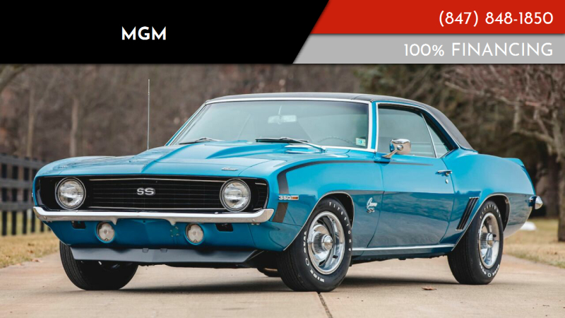 1969 Chevrolet Camaro for sale at MGM in Addison IL