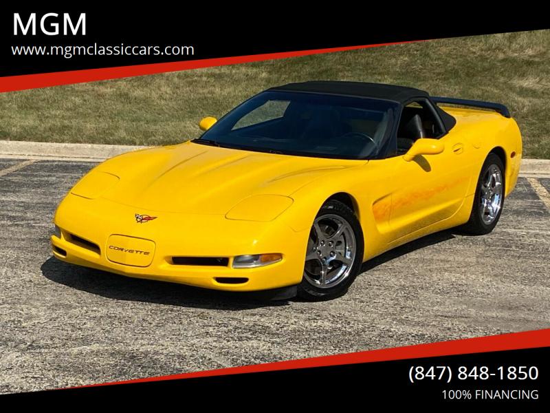 2000 Chevrolet Corvette for sale at MGM in Addison IL