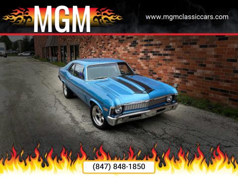 1970 Chevrolet Nova for sale at MGM in Addison IL