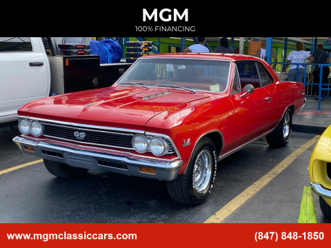 1966 Chevrolet Chevelle for sale at MGM in Addison IL