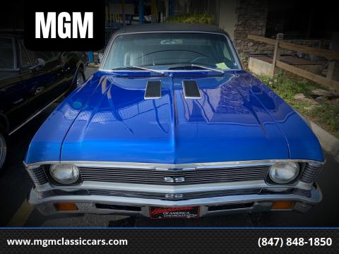 1971 Chevrolet Nova for sale at MGM in Addison IL