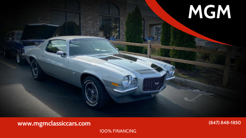 1971 Chevrolet Camaro for sale at MGM in Addison IL