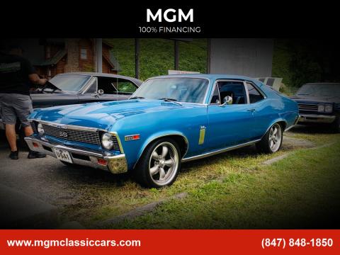 1969 Chevrolet Nova for sale at MGM in Addison IL