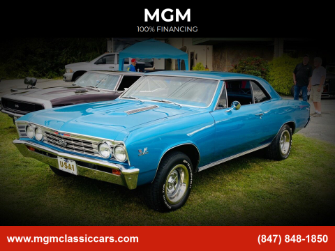 1967 Chevrolet Chevelle for sale at MGM in Addison IL