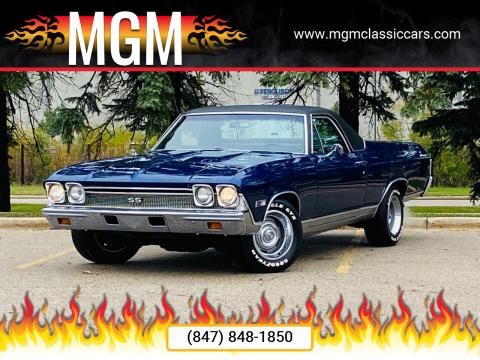 1968 Chevrolet El Camino for sale at MGM in Addison IL