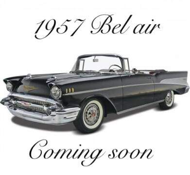 1957 Chevrolet Bel Air for sale at MGM in Addison IL