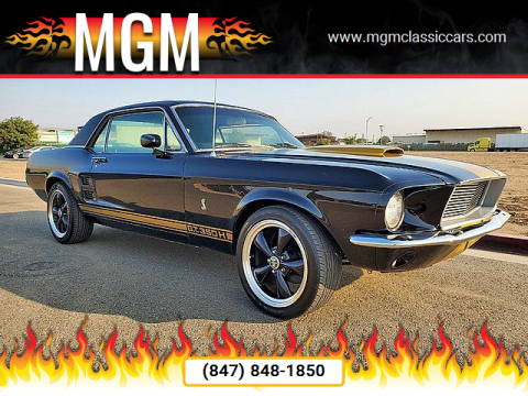 1967 Ford Mustang for sale at MGM in Addison IL