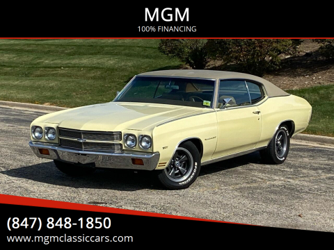 1970 Chevrolet Chevelle for sale at MGM in Addison IL